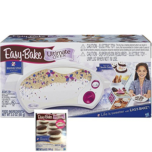 Easy Bake Ultimate Oven Baking Star Play Set with Bonus Refill Mix Whoopie Pies