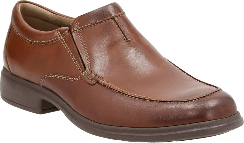 Clarks Men's Tifton Step Moc Toe Slip-On