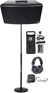 Mackie FreePlay LIVE Rechargeable DJ PA Bluetooth Speaker+Stand+Mic+Headphones
