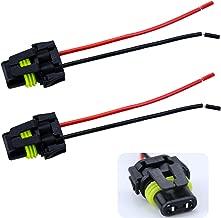 iBrightstar 9005 9006 Female Adapter Wiring Harness Sockets Wire For Headlights Fog Lights