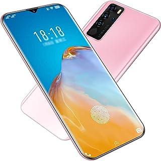 P40 Mobile Phone, Ultra-Thin Water Droplet Full Screen 4G Full Netcom Smartphone Built-in 26 Million HD Camera and 4800Mah...