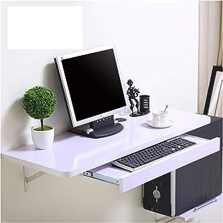 Tables Bureau D'ordinateur Mural, Pliage pour Petits Espaces, Table Murale en Bois, Construction Stable Et Solide, Table M...