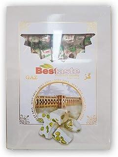 Ahmadi And Sons' Gaz Noghat/Nougat Pack (Pistachio) - 450 gm