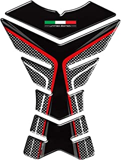 3D Italy Flag Limited Edition Motorcycle Tank Pad Protector Decal Stickers (A)