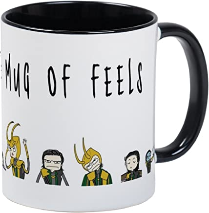 CafePress - Of Feels Mug - Unique Coffee Mug, Coffee Cup