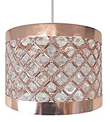 Moda Sparkly Ceiling Pendant Light Shade Fitting
