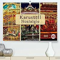 Karussell - Nostalgie (Premium, hochwertiger DIN A2 Wandkalender 2022, Kunstdruck in Hochglanz): Frueher auf jedem Dorfest zu finden, jeder kennt es - das Karussell. (Monatskalender, 14 Seiten )