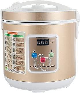 Black Garlic Fermenter, 6L 110V Full Automatic Intelligent Control Garlic Maker DIY 360° Stereo Heating Tool 12-15 Days for Home Kitchen Use (Gold)