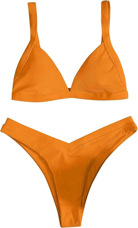 xingwang New product Solid Sexy Ranking TOP15 Women Swimsuit Bikini Sui Pieces Two Bathing