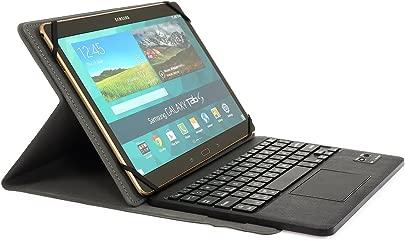 WASAN Bluetooth Tastatur QWERTZ Layout Touchpad Wiederaufladbarer Akku PU-Leder Schutzh lle f r Windows Androis Tablet 9 7 quot 10 1 quot 10 5 quot Schätzpreis : 31,00 €