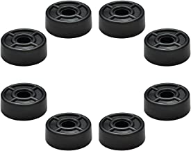 Seismic Audio RubberFeet2-8Pack Rubber Feet for Speaker Cabinets, Amplifiers, Rack Cases and Subwoofers - 8-Pack