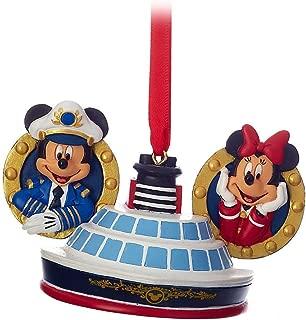 Disney Cruise Line Captain Mickey & Minnie Mouse Ear Hat Ornament
