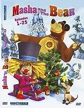MASHA AND THE BEAR 25 EPISODES ENGLISH VERSION . DVD NTSC
