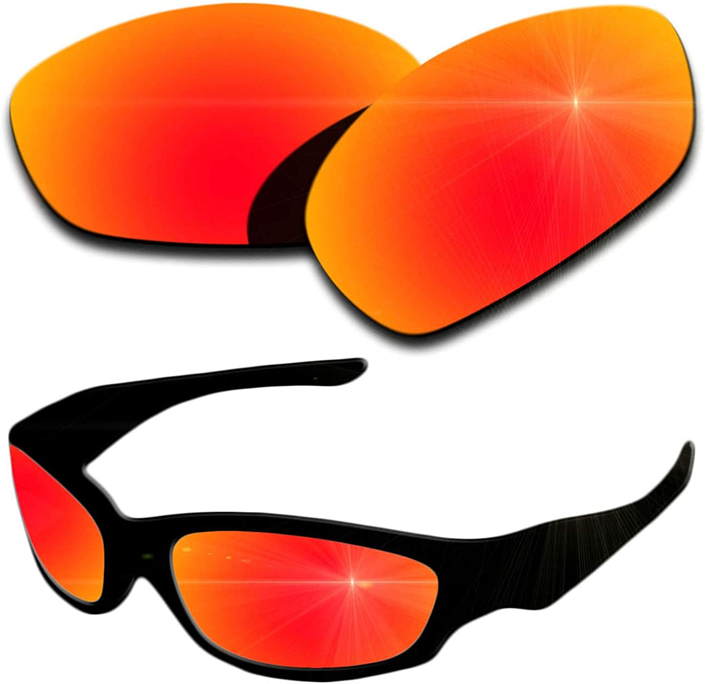 Polarized Replacement Lenses for Oakley Straight Jacket 2007 Sun