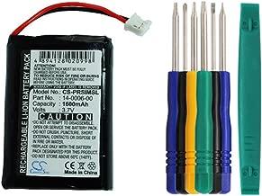 Cameron sino 1600mAh Li-ion Battery 14-0006-00 Replacement For Palm Handspring Visor Prism Handheld PDA With Tools Kit