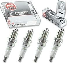 4 pcs NGK V-Power Spark Plugs for 1999-2000 Honda Civic 1.6L L4 - Engine Kit Set Tune Up