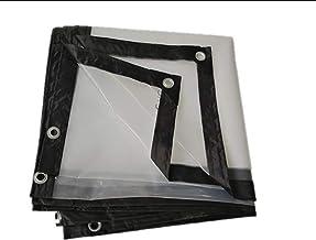 Transparant zeildoek, waterdichte zeildoek met geperforeerde plantenklep,3×5M