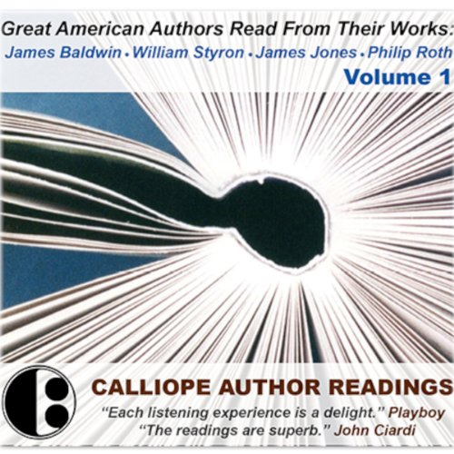 Great American Authors Read from Their Works, Volume 1 audiobook cover art