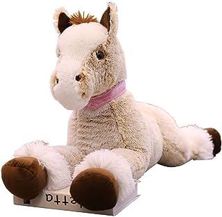 sofipal Large Horse Stuffed Animal Plush Toy,Giant Pony Unicorn Plush Doll Gifts for Kids,Valentines,Christmas 35.4