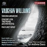 Ralph Vaughan Williams: Sinfonia Antartica / Four Last Songs / Concerto in C