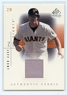 2001 SP Game Used Edition Authentic Fabric #JK Jeff Kent Jersey - NM