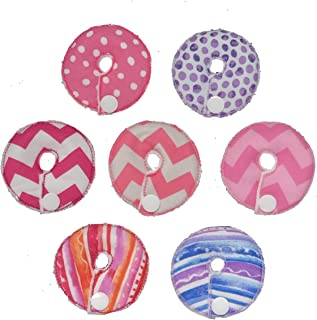 Cutie Button Pads G/j Tube Pad 7 Pack ( Girl mix 2)
