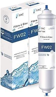 3 * Samsung DA29–10105J - Wpro USC100/1 - Filtre à eau universel externe pour réfrigérateur Américain - marque française