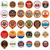 Coffee, Tea, Cider, Cappuccino & Hot Chocolate Single Serve Cups For Keurig K Cup Brewers Variety Pack Sampler, 30Count (Mix Sampler) (All unique cups, no duplicates)