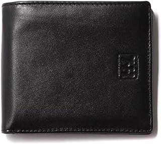 [アッシュエル] メンズ 二つ折り 財布 小銭入れ 牛革 レザー 折りたたみ 機能性 極小 ウォレット お財布 コインケース ふたつ折り 紳士
