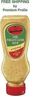 Spicy - Sweet Mustard I Medium hot and Bavarian sweet 225ml, Haendlmaier / Germany