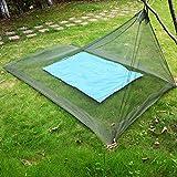 Kelenpro Mosquitera de Cama Individual de Camping (Cama Individual)