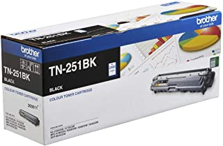 Brother Genuine TN251BK Printer Toner Cartridge, Black, Page Yield Up to 2500 Pages, (TN-251BK)