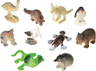 Assorted Mini Australian Animal Action Figures (10)