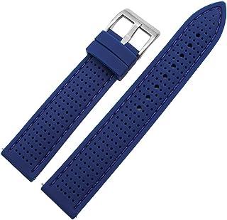 MGHN Bracelet en Silicone 18mm 20mm 22mm 24mm Strap Silicone Universal Libération Rapide Bracelet de Bracelet Respirant po...
