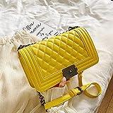 Bolso de mano para mujer de marca, bolsos de hombro de cuero PU de diseñador para mujer, con cierre de cadena, pequeño bolso bandolera, monedero T