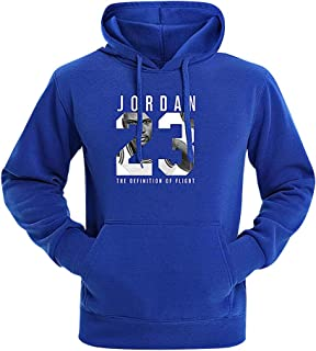 blue jordan hoodie