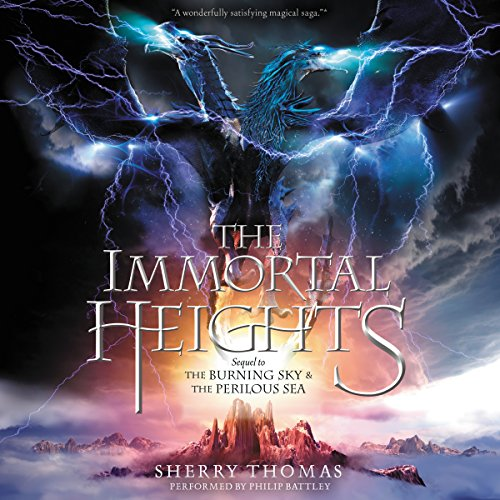The Immortal Heights audiobook cover art