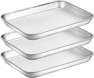 Best shallow metal tray Reviews
