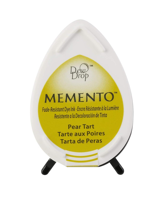 Tsukineko Memento Dew Drop Fade Resistant Inkpad of All Kinds, Pear Tart