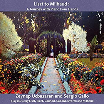 Liszt to Milhaud: A Journey with Piano 4 Hands