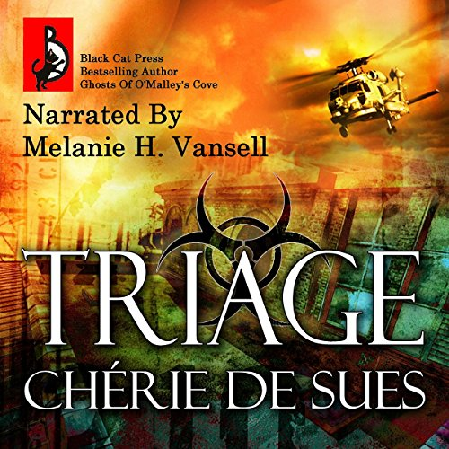 Triage audiobook cover art