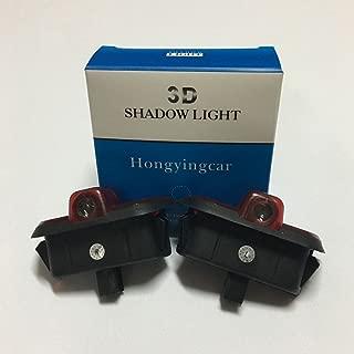 Hongyingcar Car Door LED Logo Light For Mercedes Benz W204 C230 C260 C280 C300 C200 2pcs LED Projection Logo Ghost Shadow Car Door Welcome Light 3d Light