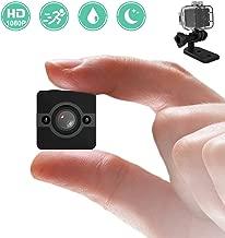 DareTang Waterproof Mini Hidden Spy Camera, 1080P HD , 155° Wide lens, Black