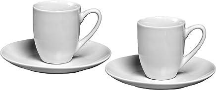 Preisvergleich für Ritzenhoff & Breker Espresso-Set Bianco, 4 teilig, 80 ml