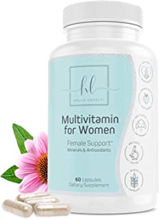 Sponsored Ad - Women's Daily Multivitamin and Multimineral Supplement, Extra Strength with Biotin 1000mg - Made in USA - V...