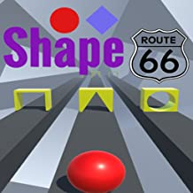 Shape Route 66 : Visual memory booster