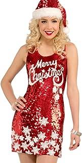 merry christmas sequin dress