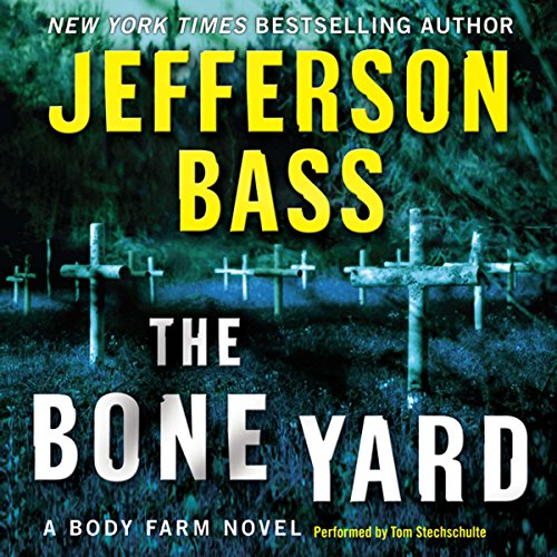 The Bone Yard audiobook cover art