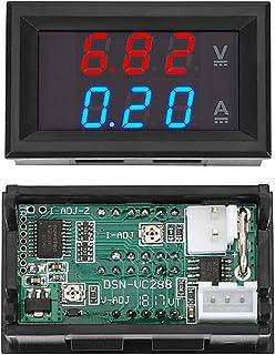 Red Dual Color LED Display Amp Dual Digital Volt Meter Gauge 2 in1 Multimeter-Blue Formulaioue 100V 10A DC Digital Voltmeter Ammeter Blue