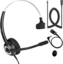 $50 » Sponsored Ad - Cisco Telephone Headset RJ9 & U10 Cable Compatible with Cisco IP Phones 6861 7942g 7965g 8841 8851 8861 894...